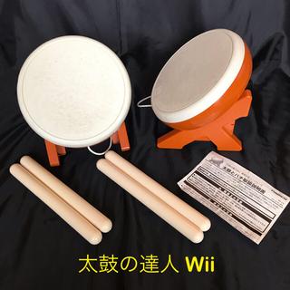 ウィー(Wii)の【 namco 】太鼓の達人 Wii コントローラ、ソフト2本セット(家庭用ゲームソフト)