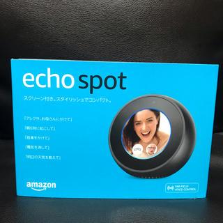 エコー(ECHO)のAmazon echo spot  新品未開封(スピーカー)