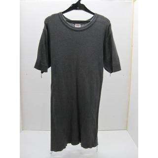 バーンズアウトフィッターズ(Barns OUTFITTERS)の*0471・Barns OUTFITTERS 半袖カットソー グレー 日本製(Tシャツ/カットソー(半袖/袖なし))