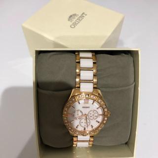 オリエント(ORIENT)のセール オリエント SSW01001W0(ホワイト)(腕時計)