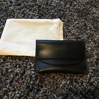 ホワイトハウスコックス(WHITEHOUSE COX)の定価21600円 新品MAKR CARRY GOODS ホーウィンレザー 財布(名刺入れ/定期入れ)
