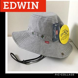 エドウィン(EDWIN)の新品 サファリハット ヒッコリー レディース エドウィン アドベンチャーハット(ハット)