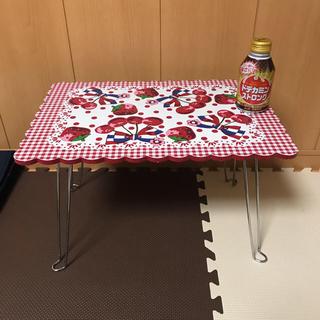 スイマー(SWIMMER)のミニテーブル(折たたみテーブル)