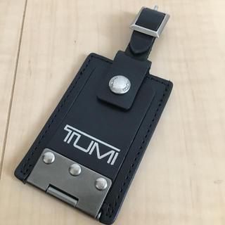 トゥミ(TUMI)の【値下げ】TUMI ラゲージタグ  ブラック(旅行用品)