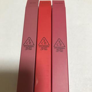 3ce  Velvet Lip Tint   3本セット