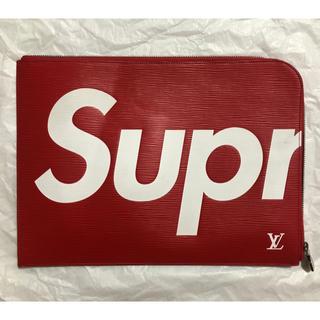 シュプリーム(Supreme)の超希少 国内正規品 100%本物 シュプリーム ルイヴィトン クラッチバッグ(クラッチバッグ)