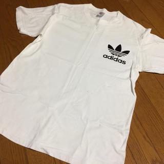adidas - Tシャツ ホワイト Lサイズ