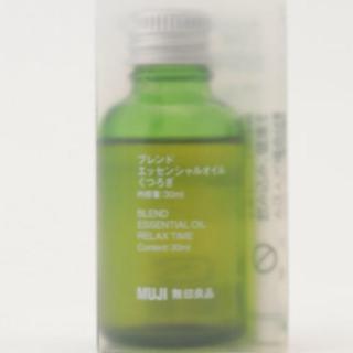 MUJI (無印良品) - ブレンド エッセンシャルオイル くつろぎ 30ml