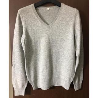 ムジルシリョウヒン(MUJI (無印良品))の無印良品 カシミヤVネックセーター(ニット/セーター)