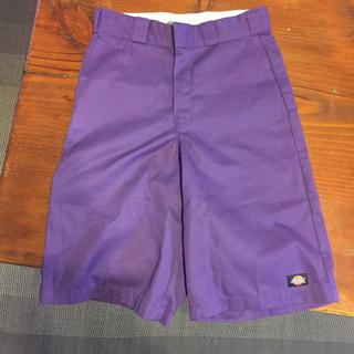 ディッキーズ(Dickies)のDICKIES 紫 パープル(ショートパンツ)