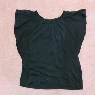 ジーユー(GU)のGU 2wayトップス(シャツ/ブラウス(半袖/袖なし))