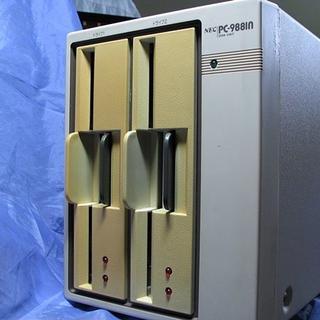 エヌイーシー(NEC)のNEC PC-9881N 8インチFDD(ジャンク)(PC周辺機器)