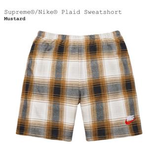 シュプリーム(Supreme)のLサイズ 国内正規品 Supreme NIKE Plaid Sweatshort(ショートパンツ)