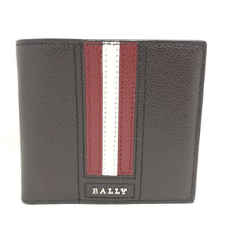 バリー(Bally)のBALLY バリー ストライプ 折り財布 6222712 ブラウン系 マルチ(折り財布)