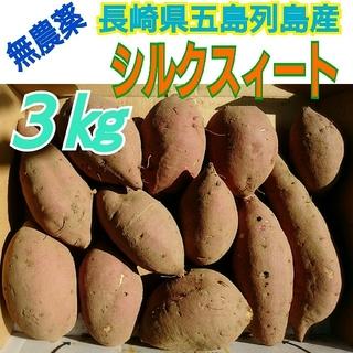 好評‼️無農薬❗《シルクスィート3㎏》長崎県五島列島より