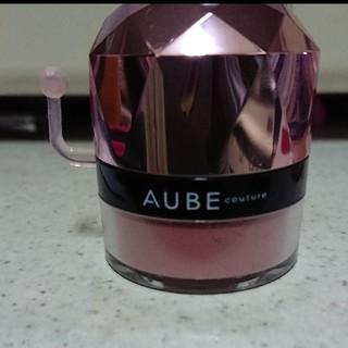 オーブクチュール(AUBE couture)の期間限定出品!AUBEクチュール ぽんぽんチーク ローズ 434(チーク)