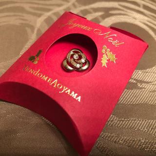 ヴァンドームアオヤマ(Vendome Aoyama)の新品未使用のヴァンドームアオヤマの1つダイヤブローチ(ブローチ/コサージュ)