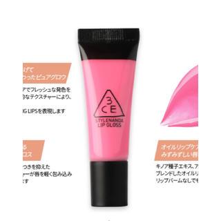 スリーシーイー(3ce)の3CE リップグロス Pink Polaroid(リップグロス)