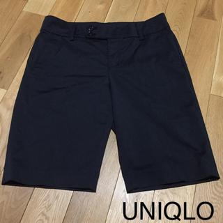 ユニクロ(UNIQLO)のユニクロ ハーフパンツ 黒(ハーフパンツ)