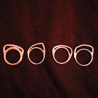 イオッセリアーニ(IOSSELLIANI)のIOSSELLIANI パズルリング 12号 4連(リング(指輪))