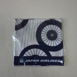 ジャル(ニホンコウクウ)(JAL(日本航空))の手ぬぐいミニハンカチ(ハンカチ)