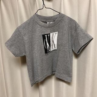 カルバンクライン calvin klein  ロゴ Tシャツ グレー