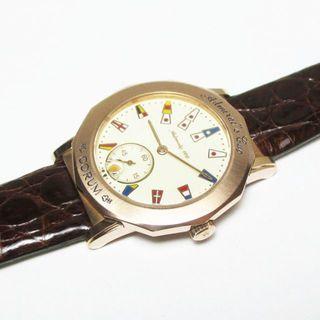 コルム(CORUM)のコルム アドミラルズカップ 日本限定モデル 30/100 K18PG AT 3針(腕時計(アナログ))
