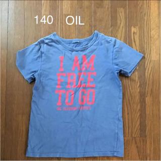 オイル(OIL)の140 オイル Tシャツ ネイビー(Tシャツ/カットソー)