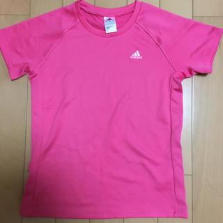 アディダス(adidas)の美品★アディダススポーツTシャツ(Tシャツ(半袖/袖なし))
