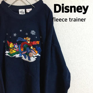 Disney - 古着 ディズニー フリース トレーナー