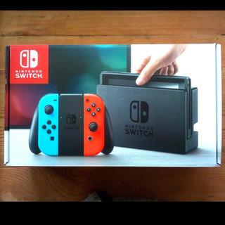 Nintendo Switch - 【お得】任天堂スイッチ Nintendo Switch 本体 ネオンブルーレッド