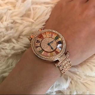 アビステ(ABISTE)のぐるぐる時計 moery アンコキーヌ ブリラミコ ABISTE アビステ(腕時計)