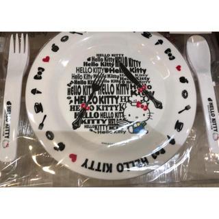 サンリオ(サンリオ)のキティ 皿 カトラリーセット メール便可能?グッズ色々あり(食器)