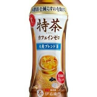 96本 特茶 送料無料 カフェインゼロ 大麦 すこやか茶黒烏龍茶特選茶より良(茶)