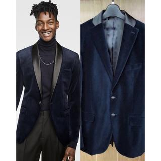 ザラ(ZARA)の売切り‼️ZARA MAN 2017-18 サテン(レーヨン)素材長袖シャツ M(テーラードジャケット)