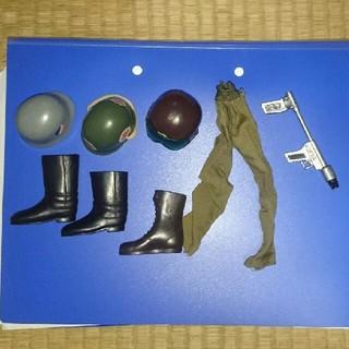 GIジョー ヘルメット ブーツ パンツ 銃(ミリタリー)