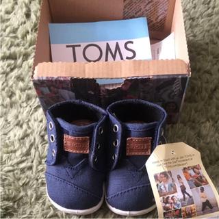 新品 TOMS kids shoes トムス ベビーシューズ ファーストシューズ