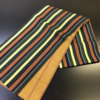 正絹。リバーシブルの袋帯。たっぷりサイズの未使用品。。(帯)