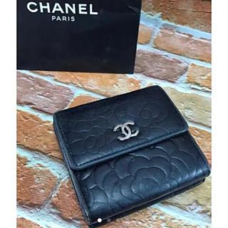 シャネル(CHANEL)のお値引きしました シャネル CHANEL カメリア 2つ 折財布(財布)