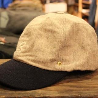 アナクロノーム(anachronorm)の美品!DECHO(デコー) ×ANACHRONORM BEAT BALL CAP(キャップ)