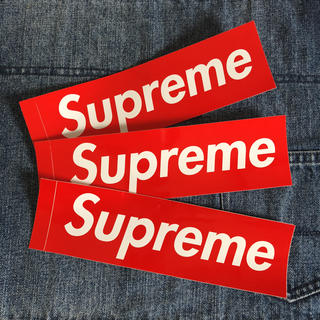 シュプリーム(Supreme)のsupreme ステッカー3枚セット(ノベルティグッズ)