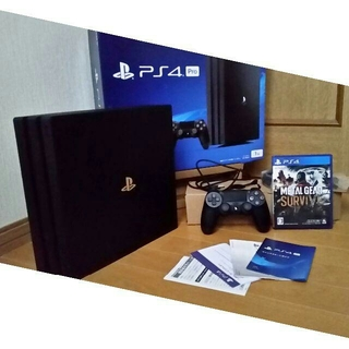 SONY - PS4 Pro CUH-7100B 1TB‼️付属品完備‼️ 送料無料!