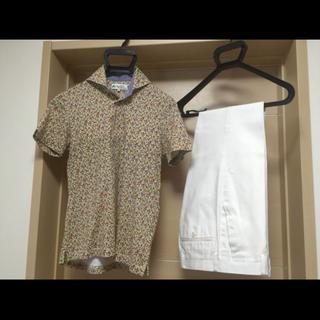 スーツカンパニー(THE SUIT COMPANY)のSUIT COMPANY2点 ポロシャツ&パンツ スーツカンパニー SS 春夏(ポロシャツ)