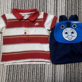 ナイキ(NIKE)のナイキポロシャツ&トーマスリュック(Tシャツ/カットソー)