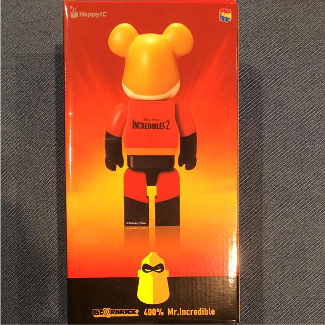 Happyくじ ベア ブリック  Mr.インクレディブル400% エンタメ/ホビーのおもちゃ/ぬいぐるみ(キャラクターグッズ)の商品写真