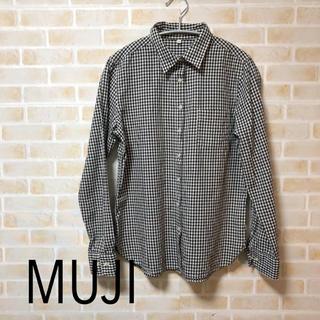 ムジルシリョウヒン(MUJI (無印良品))の【MUJI】ギンガムチェックシャツ(シャツ/ブラウス(長袖/七分))