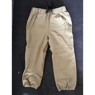 モンベル(mont bell)のモンベル キッズ 防寒パンツ サイズ100 着用一回の美品です。(パンツ/スパッツ)