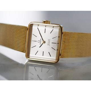 オメガ(OMEGA)の美品 オメガ デビル エメラルド ゴールド オートマティック Omega(腕時計)
