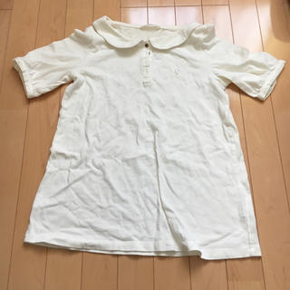 アデュートリステス(ADIEU TRISTESSE)のADIEU TRISTESSE 丸襟ポロシャツ(ポロシャツ)