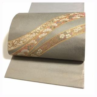 極上 螺鈿 逸品 上質 正絹 袋帯 中古品 (帯)